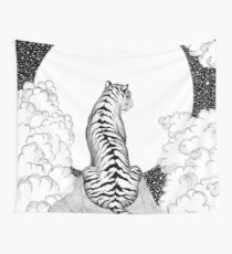 Tiger Moon Wall Tapestry