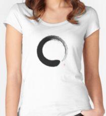 Ensō Splash Women's Fitted Scoop T-Shirt