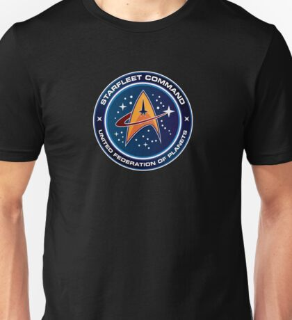 Star Trek Starfleet Command Unisex T-Shirt