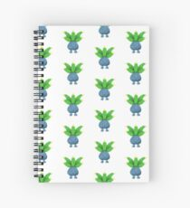 Oddish Pokemon  Spiral Notebook