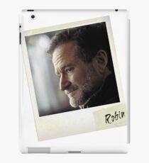 Robin Williams Photograph iPad-Hülle & Klebefolie