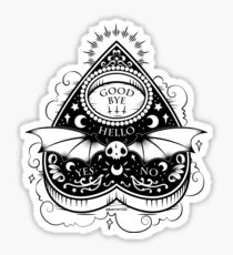 OUIJA Horror Sticker