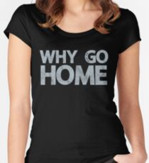 Why Go Women's Fitted Scoop T-Shirt
