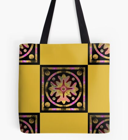 Colorful checkers Tote Bag