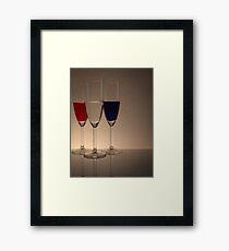 Coloured Glasses Framed Print