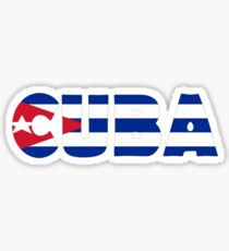 Cuba Sticker