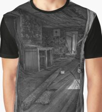 Screen Door Closer - BW Graphic T-Shirt