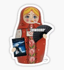 Katya Zamolodchikova Russian Doll Sticker