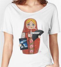 Katya Zamolodchikova Russian Doll Women's Relaxed Fit T-Shirt