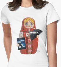 Katya Zamolodchikova Russian Doll Women's Fitted T-Shirt