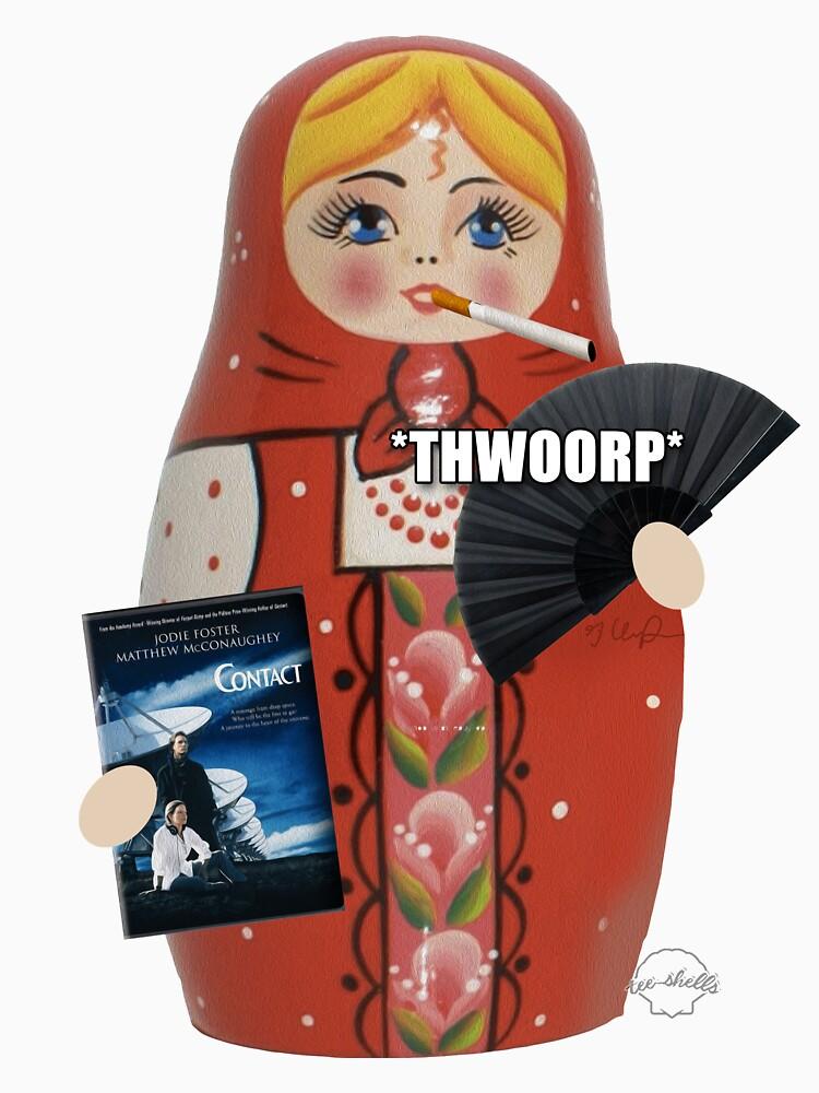 Katya Zamolodchikova Russian Doll by TeeShells