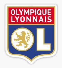 Olympique Lyonnais OL Lyon Logo Soccer Football Sticker