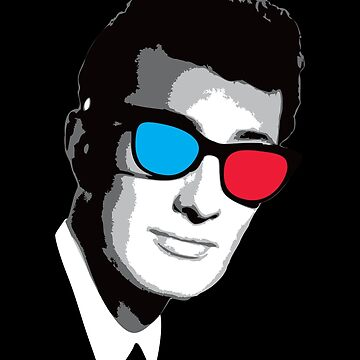 Buddy Holly 3D Glasses by RadRobot