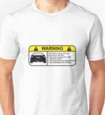 Toyota 86 Warning Drift Unisex T-Shirt