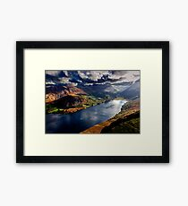 Ennerdale Water, Cumbria Lake District Framed Print