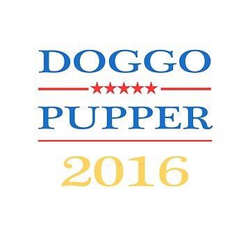 Doggo / Pupper 2016 by Apocalyptopia