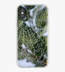 Dewy spiderweb iPhone Case