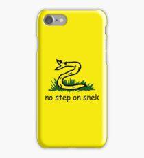 No Step on Snek iPhone Case/Skin