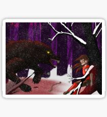 Red Ridinghood Sticker