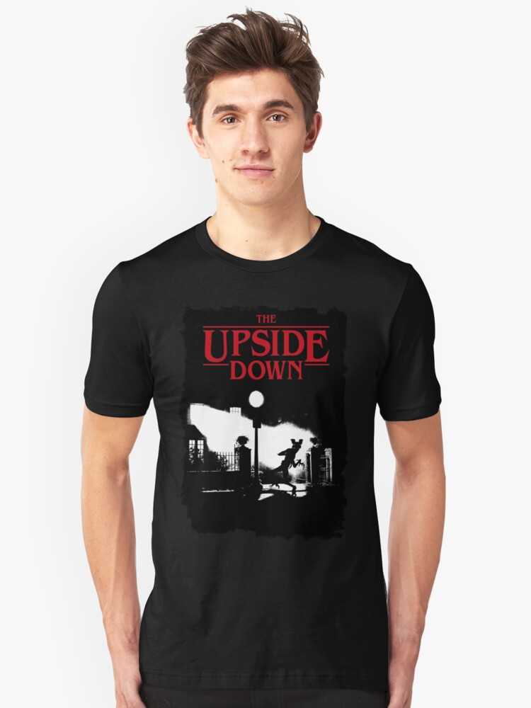 The Upside Down - Stranger Things Unisex T-Shirt Front