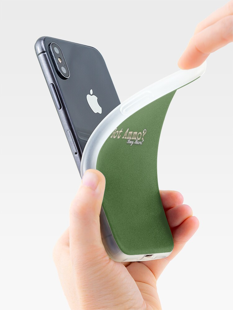Alternate view of Vote with your wallet. iPhone Cases & Covers