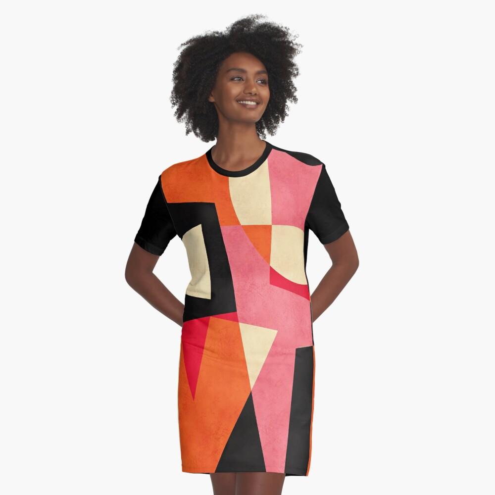L_O_V_E Graphic T-Shirt Dress