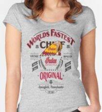 INDIAN Women's Fitted Scoop T-Shirt