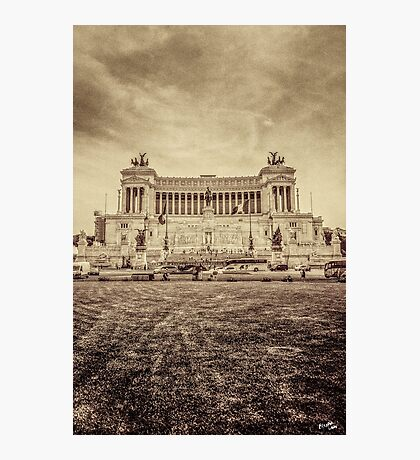 Monument of Victor Emmanuel II Photographic Print