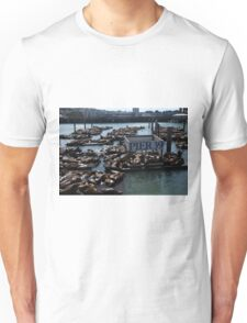 Pier 39 San Francisco Bay Unisex T-Shirt