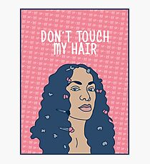 Solo Don't Touch My Hair Photographic Print