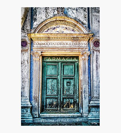 Farmacia Photographic Print