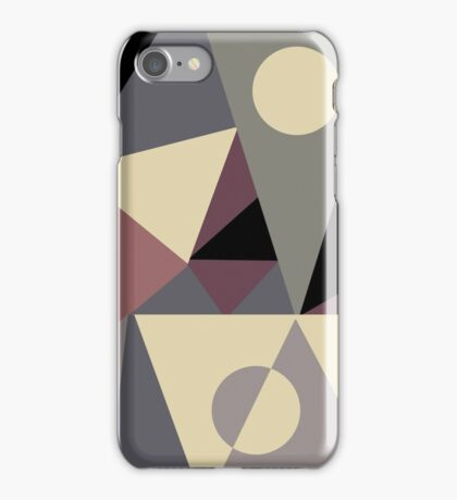 Triangulation I iPhone Case/Skin