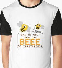 Irritating Bee Graphic T-Shirt