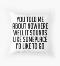 """Dashboard"" by Modest Mouse Throw Pillow"