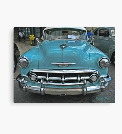 """'53 Chevy Bel Air""... prints and products Canvas Print"