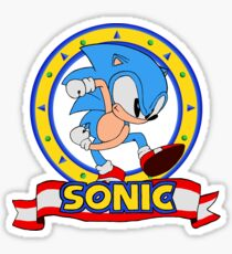 Sonic Mania - Cartoon Sticker