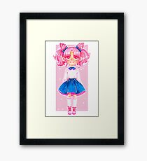 chibi usa Framed Print