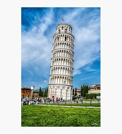 Tower of Pisa Photographic Print