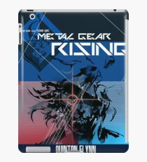 Rising - Metal Gear Solid iPad Case/Skin