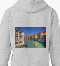 Light Traffic on the Grand Canal Pullover Hoodie