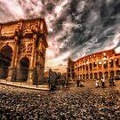 Piazza Del Colosseo by FelipeLodi