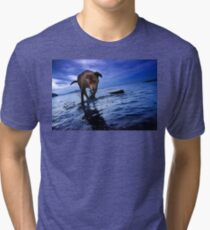 Frolicking Tri-blend T-Shirt