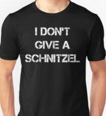 I Don't Give A Schnitzel Shirt - Oktoberfest Shirt Unisex T-Shirt