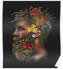 One With Nature   Australian Natives Poster