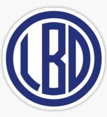 LBD Monogram Sticker