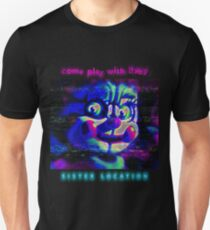 SISTER LOCATION (FNAF) come play with Baby Unisex T-Shirt