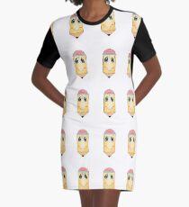 Cute pencil  Graphic T-Shirt Dress