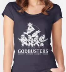 GODBUSTERS Women's Fitted Scoop T-Shirt
