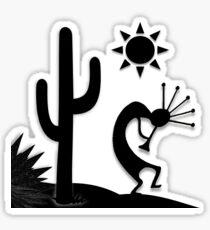 Silhouette Kokopelli Sticker