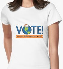 VOTE! Women's Fitted T-Shirt